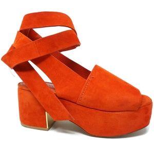 Mercedes Castillo Darea Ankle Tie Platform Sandals